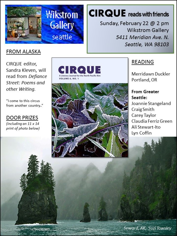 Seattle Cirque reading for issue 6.1