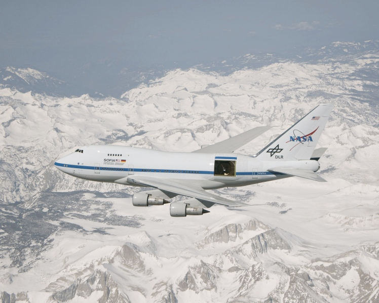 SOFIA - The largest airborne observatory in the world.